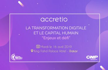 Accretio participates in the Forum of human resources professionals, April 16, 2019 in Dakar !